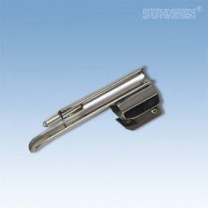 Laryngoscoop metaal, warm licht - Baby-Miller blad fijn - Maat 0