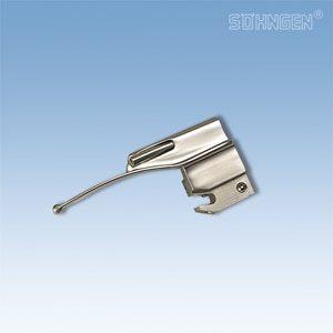 Laryngoscoop metaal, koud licht - Baby-Miller blad