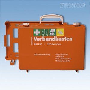 Koffer ADR - gevaarlijke stoffen met verbandkoffer DIN 13 164