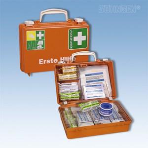 EHBO koffer QUICK-CD met vulling norm DIN 13157 oranje
