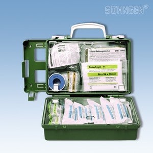 EHBO koffer QUICK-CD met vulling norm DIN 13157 groen