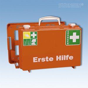 EHBO koffer SN-CD met vulling norm DIN 13157 PLUS oranje