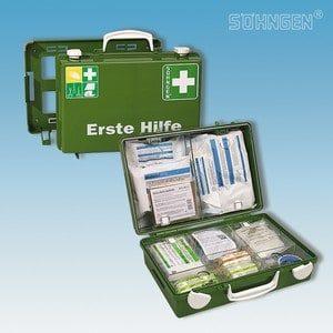 EHBO koffer SN-CD met vulling norm DIN 13157 groen