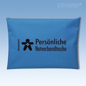 Persoonlijk verbandtasje (blauw)