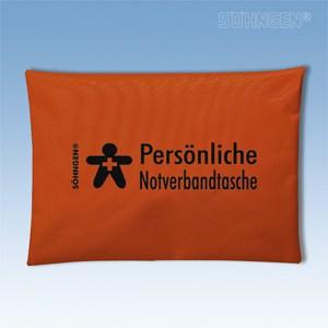 Persoonlijk verbandtasje (oranje)