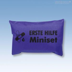 Eerste hulp tasje, Mini Set (persoonlijk hulptasje) blauw