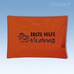 EHBO tasje onderweg kind (oranje)