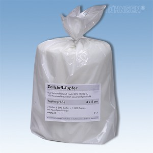 Cellulose swabs