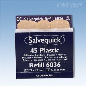 Salvequick navulling - 6036, wondpleisters waterproof