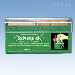 Salvequick wondpleister dispenser Cederroths