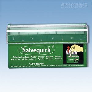 Salvequick wondpleister dispenser Cederroths - leeg