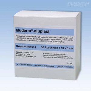 Aluplast wondpleisters - 10 x 6 cm - doos van 50 stuks