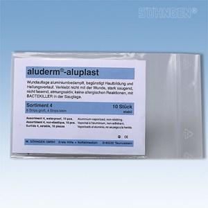 Aluplast wondpleisters Assortiment 4 (10 stuks) - waterproof
