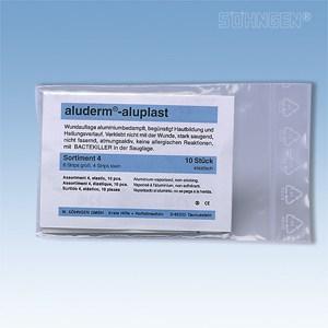 Aluplast wondpleisters Assortiment 4 (10 stuks) - elastisch