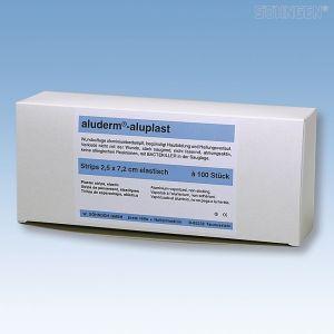 Aluplast strips - 2,5 cm x 7,2 cm - 100 stuks - EL