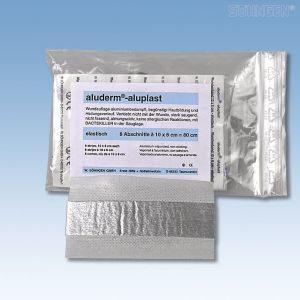 Aluplast wondpleisters - 10 x 6 cm - individueel - EL