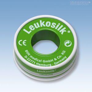 Leukosilk tape - 5 m x 1,25 cm