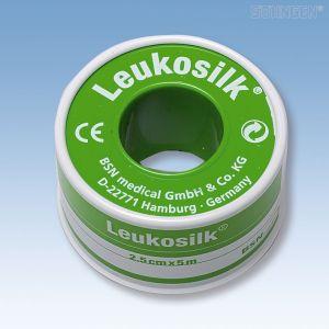 Leukosilk tape - 5 m x 2,5 cm