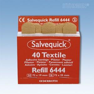 Salvequick navulling - 6444, wondpleisters elastisch