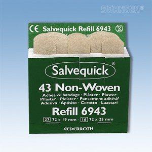 Salvequick navulling - 6943, wondpleister strips