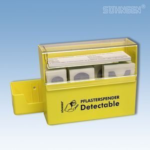 Dispenser detecteerbare wondpleisters