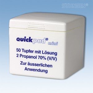 Swab dispenser, Quickpad 50st