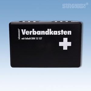 Verbandkoffer KIEL met vulling norm DIN 13157 zwart