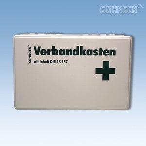 Verbandkoffer KIEL met vulling norm DIN 13157 wit