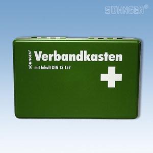 Verbandkoffer KIEL met vulling norm DIN 13157 groen