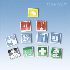 Piktogrammen -Serie 1 Klein 33 x 33 mm