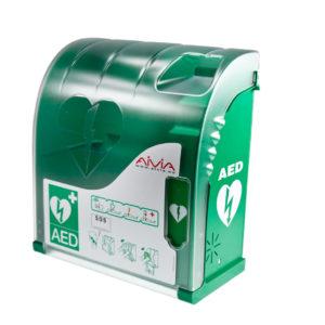 Aivia 101 AED kast met alarm en verlichting