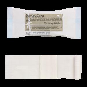 Bambucare verbandpakje - SMALL 6 x 8 cm x 3m (ext.) 20 jaar steriel