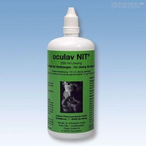 Oogspoelvloeistof oculav NIT Steriele oplossing