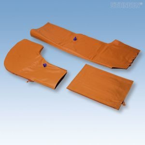 3-delige spalkenset (armspalk, beenspalk, kussenzak)