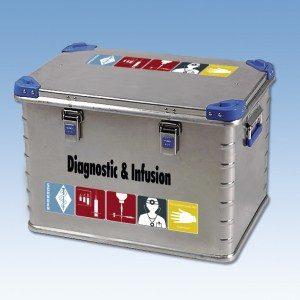 SEG Box 3, diagnostiek en infuusmateriaal
