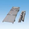 Stretcher 2x vouwbaar - Polyethyleen lakens met 4 ijzeren poten