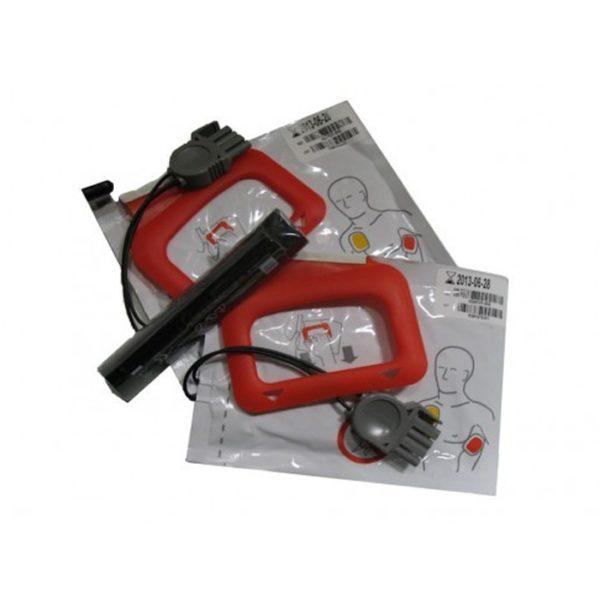 Defib pads voor LP CR Plus (x2) + batterijstick