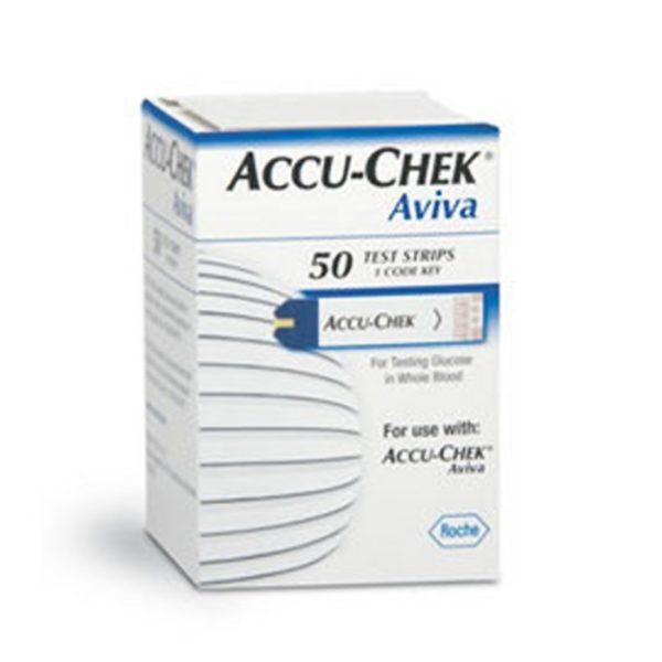 ACCU-CHECK Aviva Test Strips (2 x Doosje van 50)