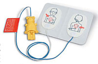 Trainingselectrode pediatrie voor Laerdal FR2 trainer