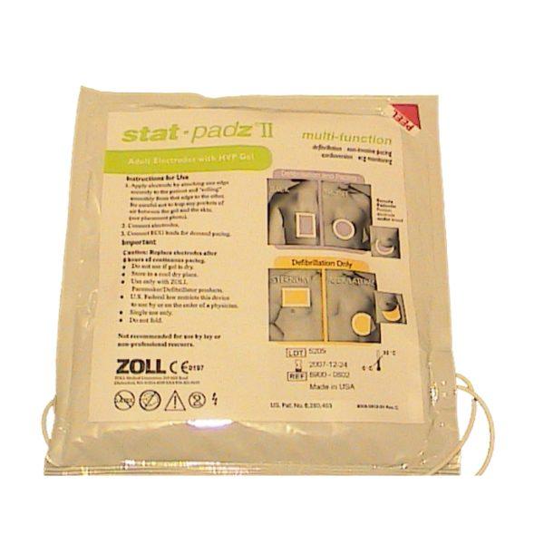 Defib pads voor ZOLL AED Plus volwassene Stat-Padz II (doos van 12)