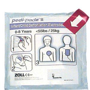 Defib pads voor ZOLL AED Plus pediatrie Pedi-Padz II