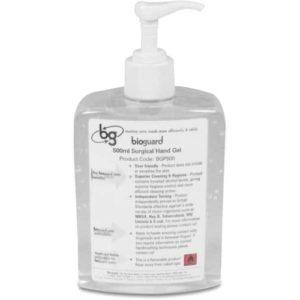 Bioguard surgical hand gel - 500ml - met pompje (doos van 6)