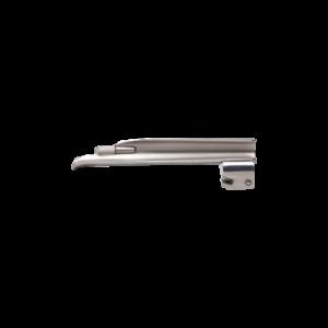 Laryngoscoop metaal, warm licht - Baby-Miller blad fijn - Maat 2