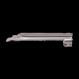 Laryngoscoop metaal, warm licht - Baby-Miller blad fijn - Maat 4