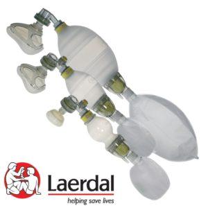 beademingsballon volwassene Laerdal (met masker 4 & 5)