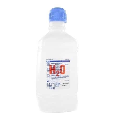 Fles steriel water 500ml