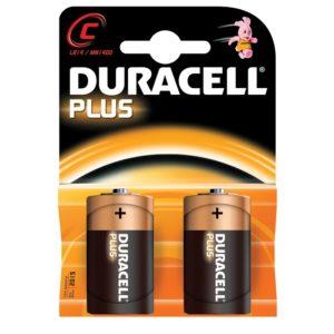 Set van 2 C batterijen