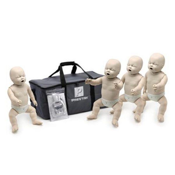 Set van 4 reanimatiepoppen baby