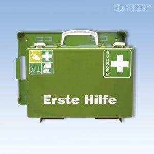 1e hulpkoffer SN-CD leeg, groen
